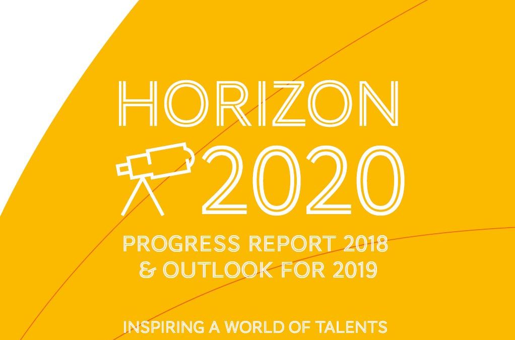 Outlook 2019, activity report 2018, discover our new progress report!